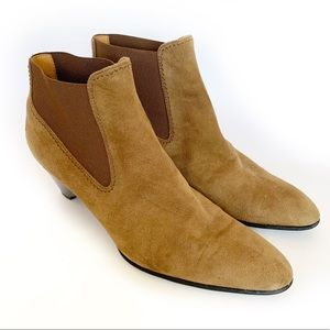 TOD'S | Suede Ankle Booties